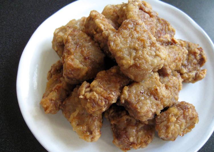 Steps to Make Perfect 'Kara-age' Fried Beef