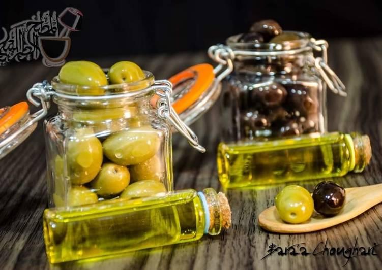Recipe of Award-winning Green_olives_pickeles