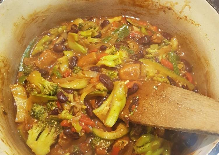 Recipe: Perfect Vegan chorizo and veggie stew