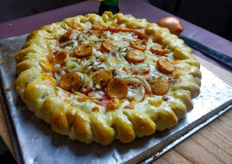 Pizza ala Bakery Tanpa Telor