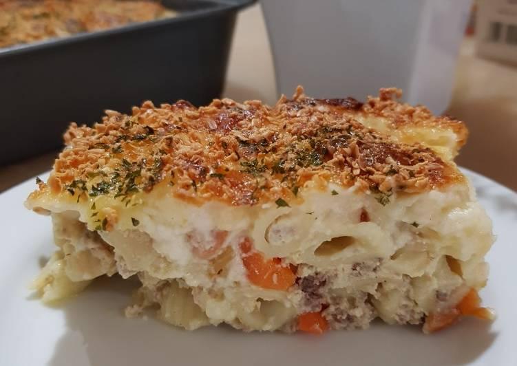 7. Macaroni Panggang Keju Lumer