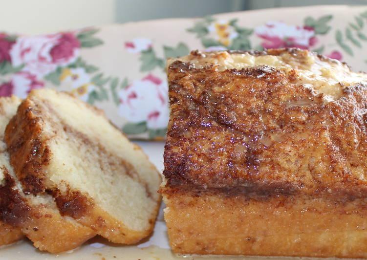Recipe of Speedy Easy Cinnamon Swirl Bread Loaf