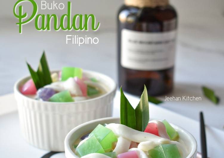 Cara Mudah Masak: Filipino Dessert /Buko Pandan Filipino  Terbaru