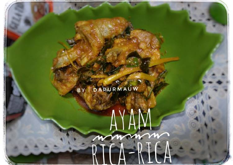 (17) Ayam Rica-rica