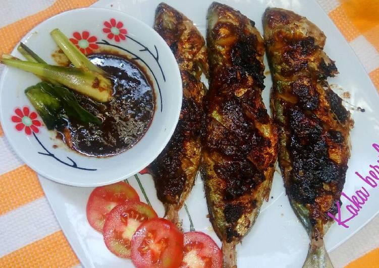Ikan bakar teflon saus kecap