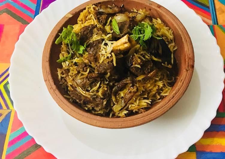 How to Make Favorite Mutton biriyani