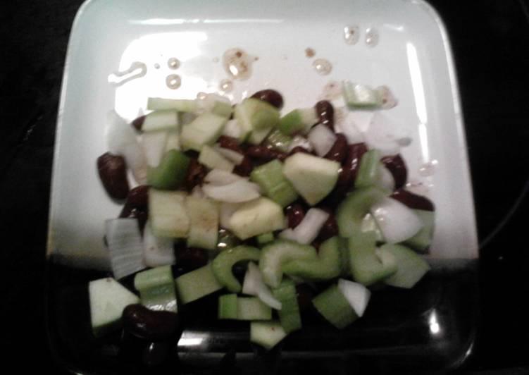 Bean Salad Vinaigrette