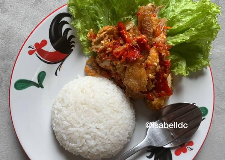 60. Ayam Geprek Gluten Free (NO MSG)