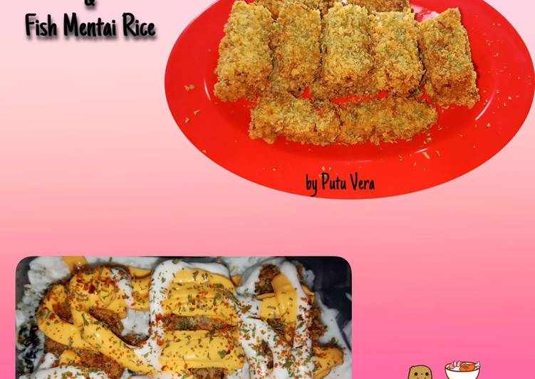Nugget Ikan dan Fish Mentai Rice