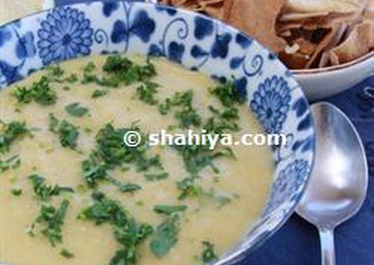 Yellow lentil soup, Finding Healthful Fast Food