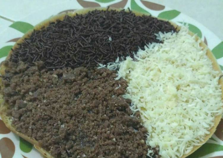 Resep Terang Bulan / Martabak Bangka /kue samarinda sederhana Anti Gagal