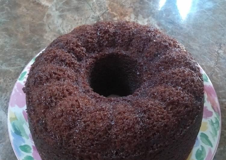 Brownies kukus chocolatos No mixer