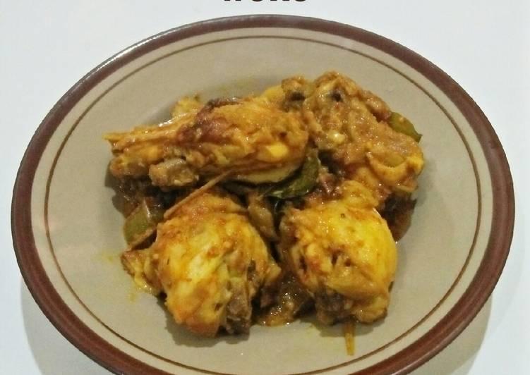 Ayam Woku Khas Manado