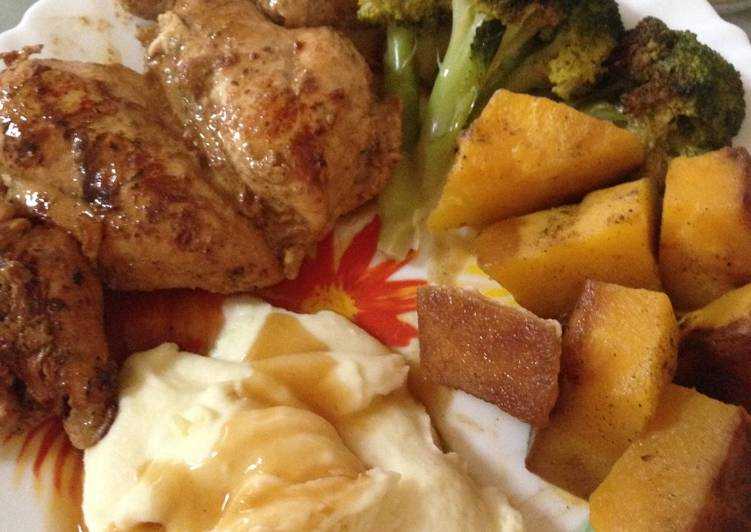 Recipe: Tasty Chicken breast with pumpkin