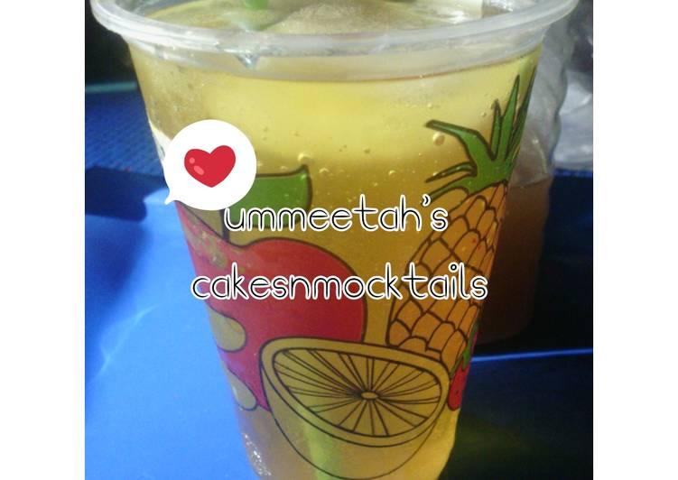Steps to Prepare Perfect Special lemonade