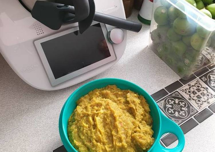 Purée de pommes de terre/potimarron/brocolis au Thermomix TM6