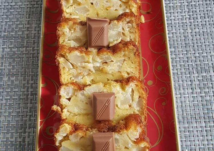 Cake aux poire