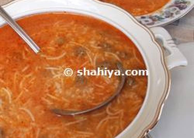 Lebanese Ema Soup