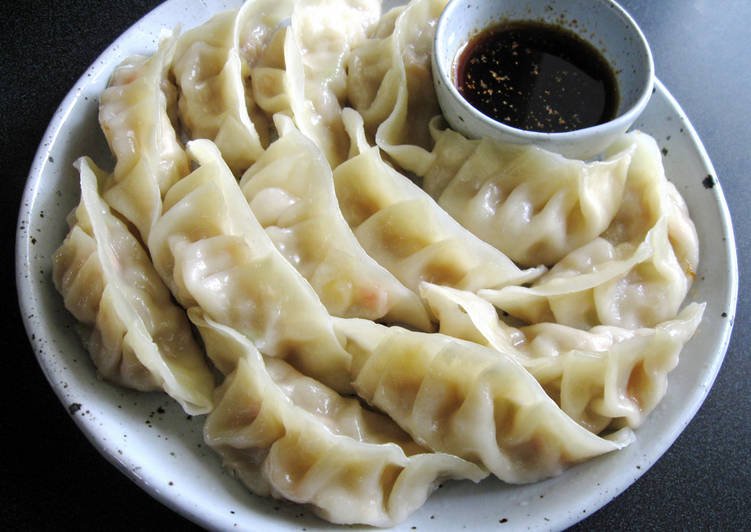 Prawn Gyoza Recipe By Hiroko Liston Cookpad