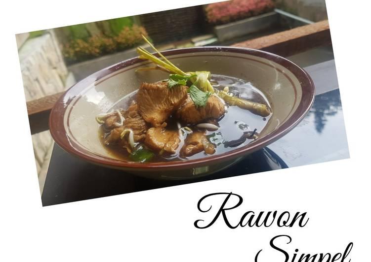 Rawon simple