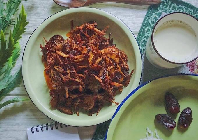 Resepi simple Ikan bilis & jering semai goreng berlado #PhopBylinimohd #menusahur