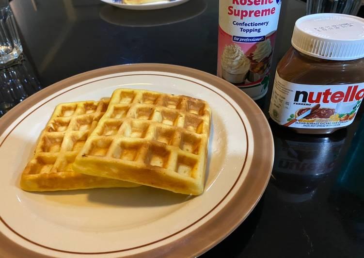Resep Waffle praktis Favorit