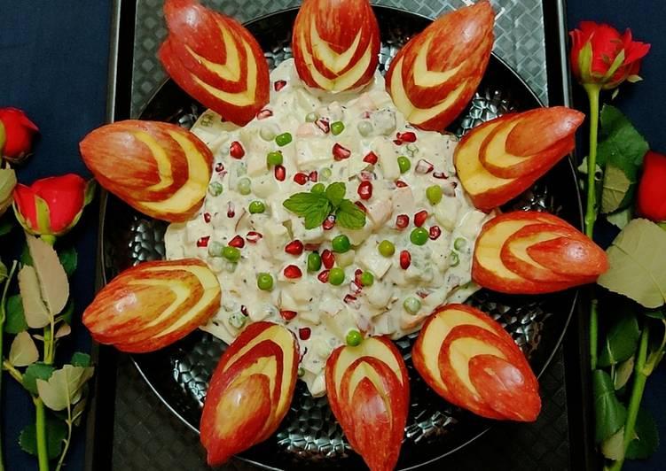 Russian fruit salad