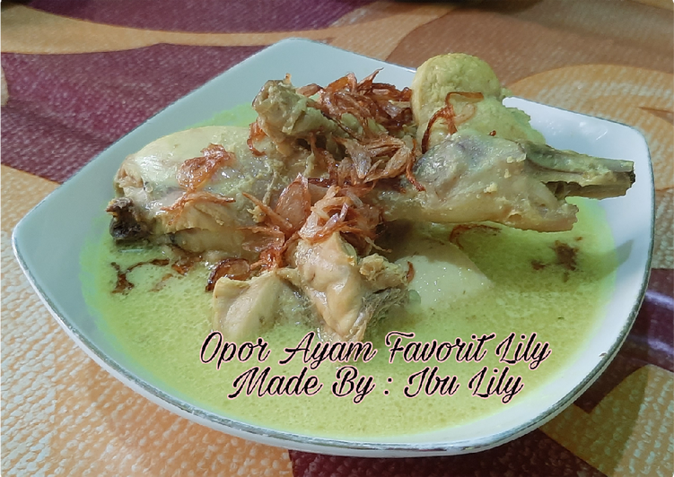 30. Opor Ayam Favorit Lily