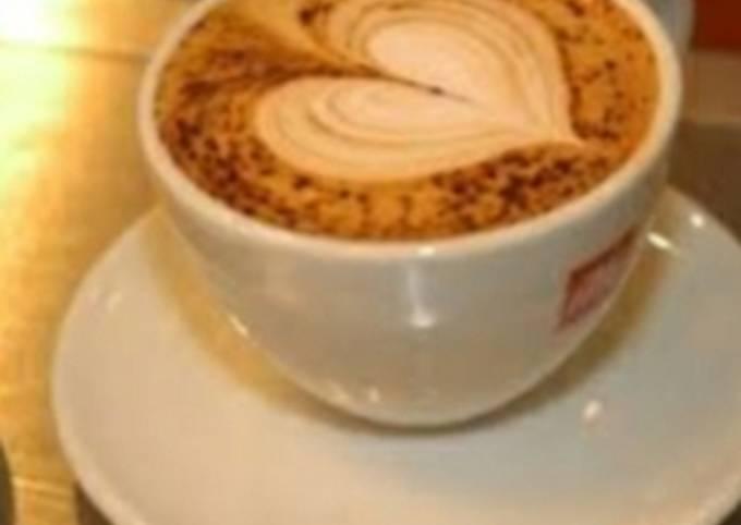 Foam coffee at home