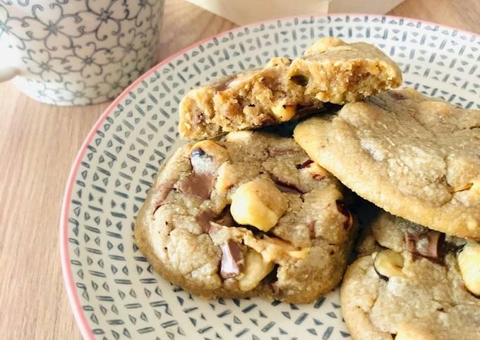 Cookies Chocolat au lait - noisettes