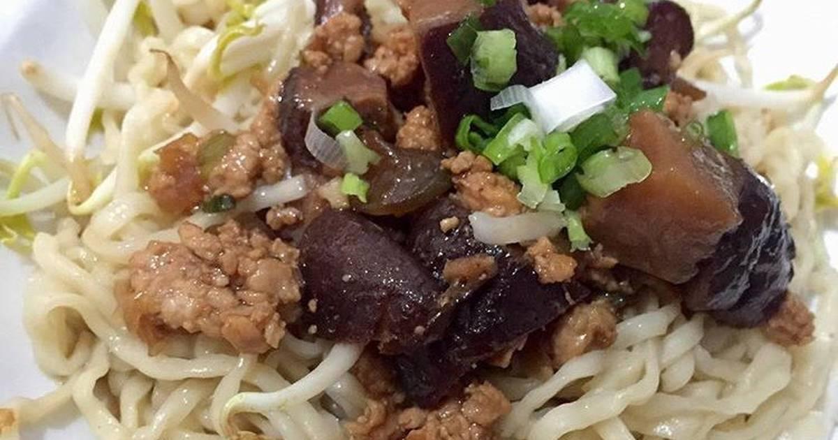 Mie Ayam Jamur - Homemade