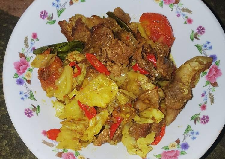 Tongseng daging kambing enak