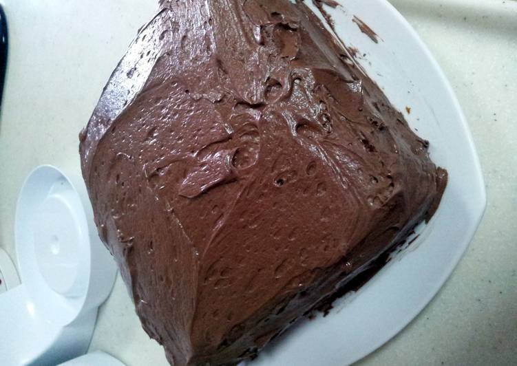 Quick and Easy Recipe: Appetizing Simple Choco Frosting