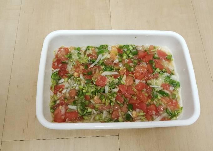Fresh salsa(pico de gallo)