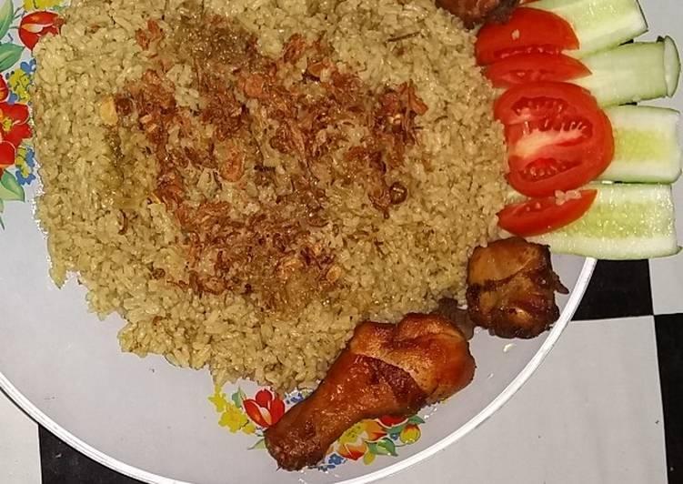 Cara Memasak Nasi Kebuli Ayam enak