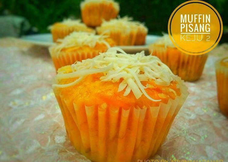 Muffin Pisang Keju 2