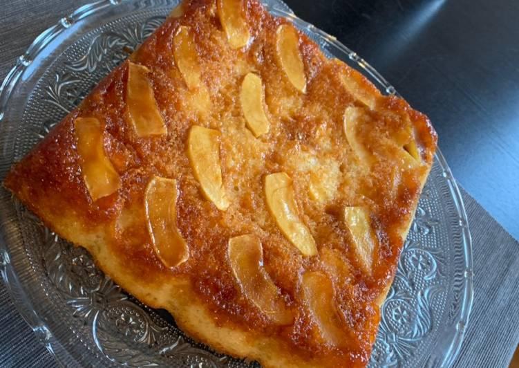 Recette De Gâteau pommes caramel