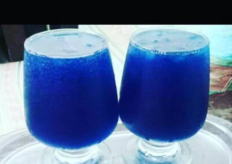 Easiest Way to Prepare Super Quick Homemade Blue Hawaiian cocktail