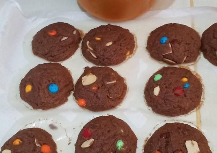 Langkah Mudah untuk Membuat Cookies Coco Almond enak & renyah, Enak