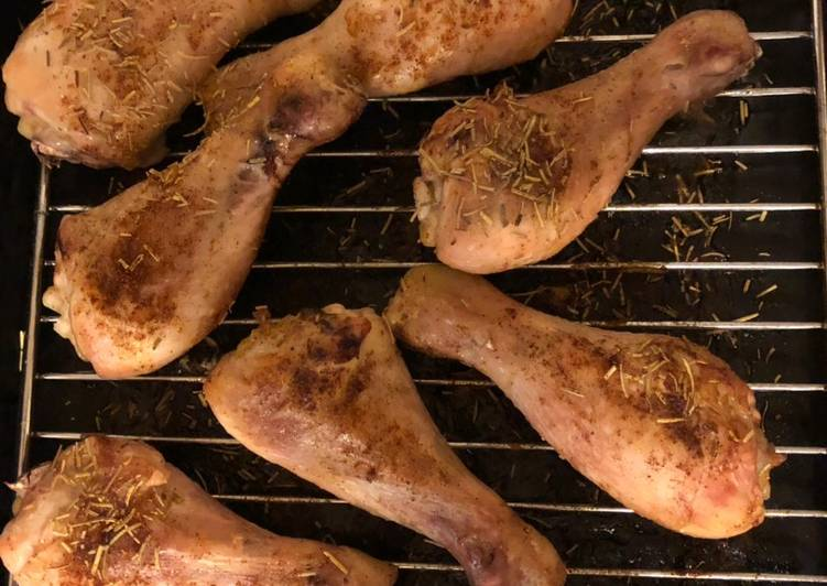 Discover How to Boost Your Mood with Food Rosemary and paprika chicken drumsticks