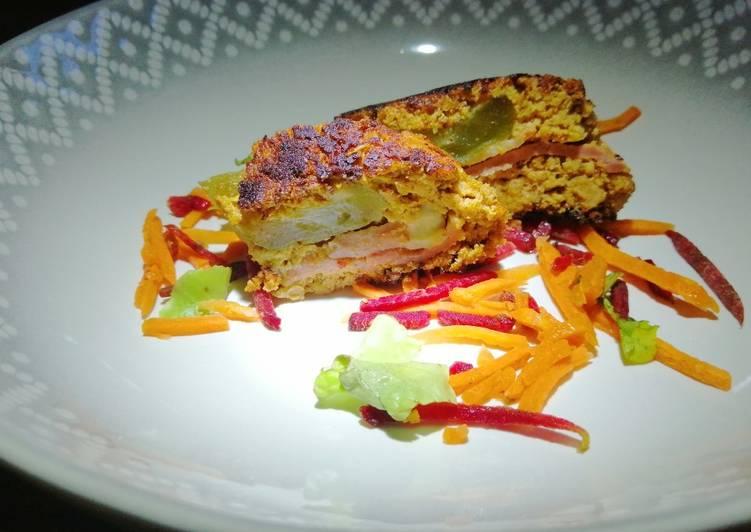 Recipe: Appetizing Stuffed pork meat loaf