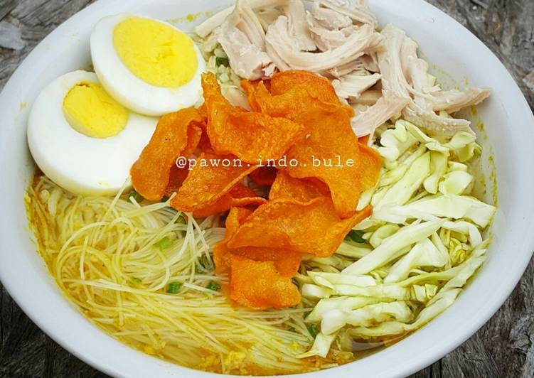 Step-by-Step Guide to Prepare Quick Soto Ayam (Indonesian Chicken Soup)