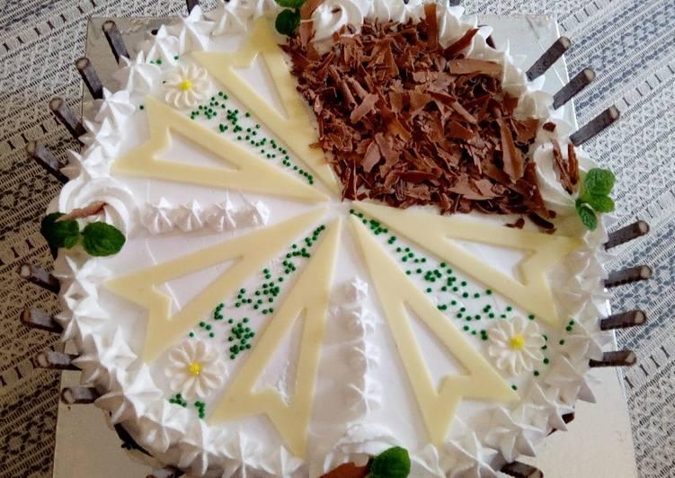 Chocochip Lemon Cake#bakingchallenge