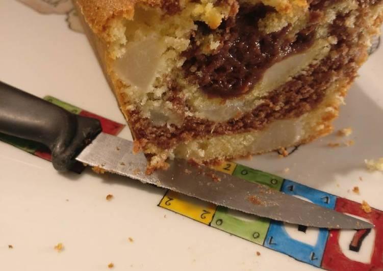 Recette Des Marbré poires crème de marron