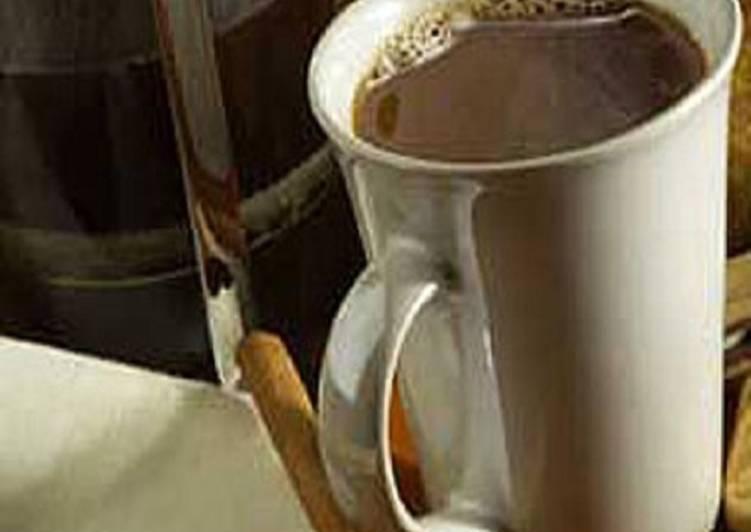 25 Minute Recipe of Speedy Cinnamon Coffee