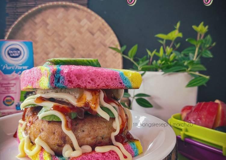 Burger Pelangi