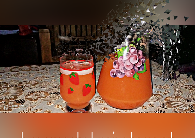 Jus mix tomat wortel