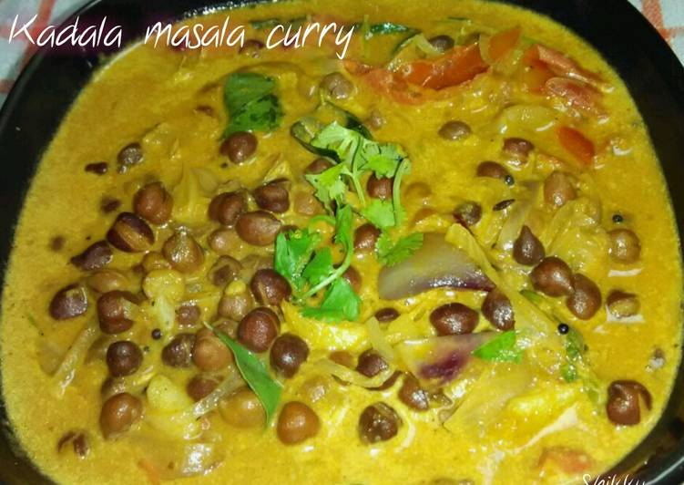 Kadala masala curry