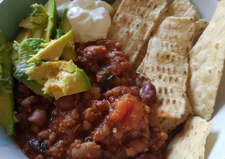 Recipe: Delicious Vegan chilli