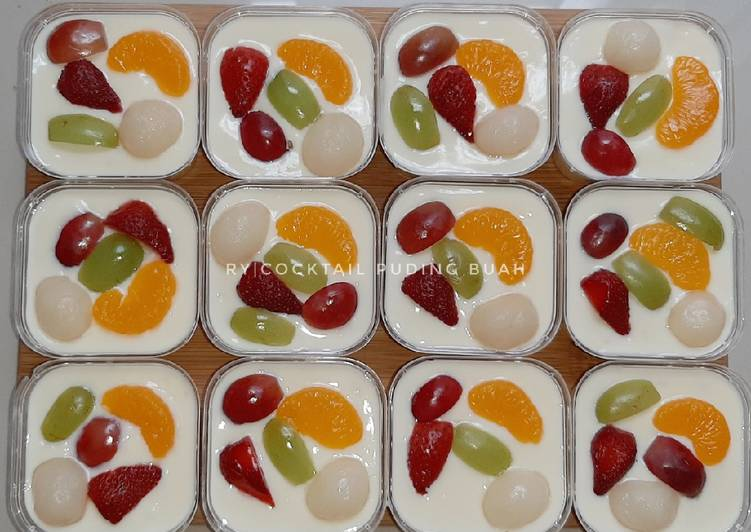 Cocktail Puding Buah